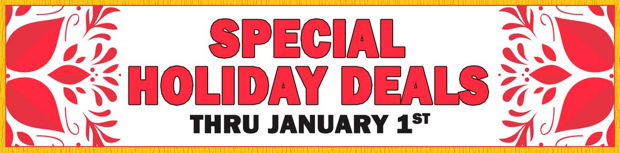 Holiday Specials at Southeastern Salvage