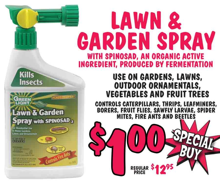Lawn and Garden Spray