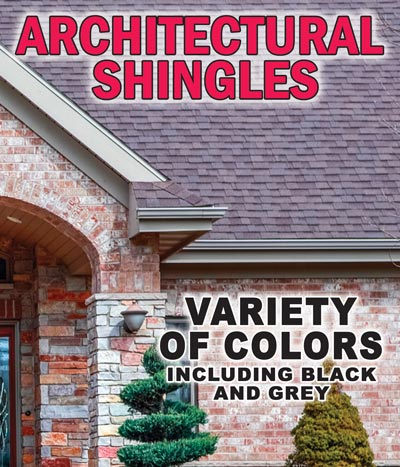 Architectural Grade Roofing Shingles $19 a bundle