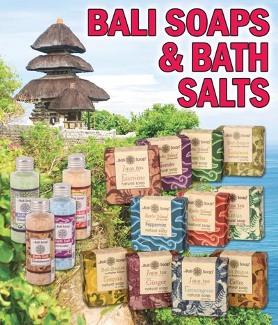 Exotic Soaps and Bath Salts from Bali for $1.99 - Lots of exotic scents