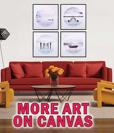 More Art on Canvas – $6 to $29