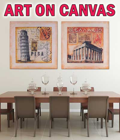 Fine Art reproductions on Canvas - $55 to $89 - Huge Variety
