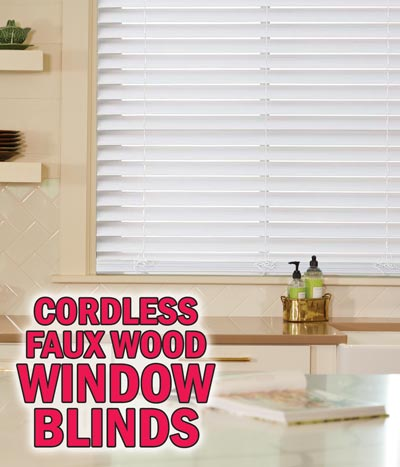 Cordless Window Blinds – starting at $21.88