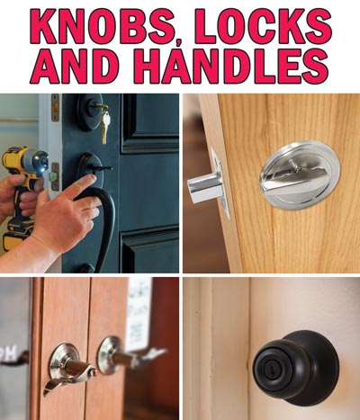 Deadbolts, Entry Door Handle Sets, Door Knobs and Levers