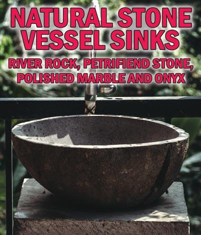 Natural Stone Vessel Sinks