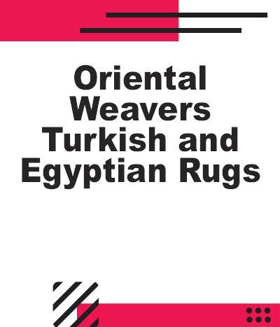 Oriental Weavers Egyptian Rugs