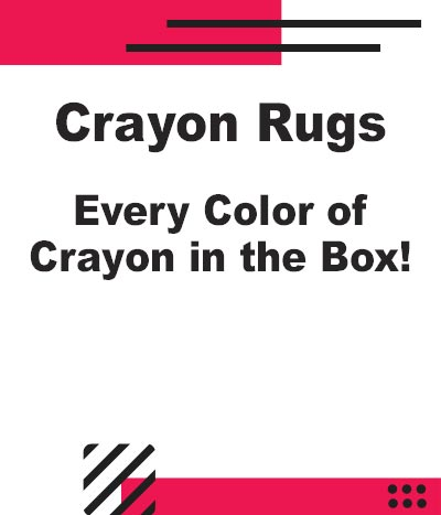 NEW Crayon Rugs