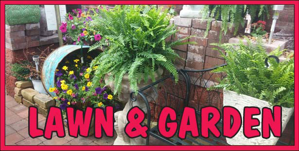 Lawn and Garden Supplies - Pottery, Furniture, Decking and more