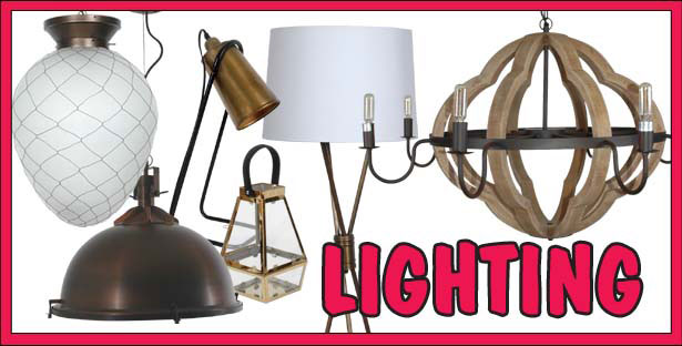 Hanging Lights, Chandeliers, Table Lamps, and Lanterns