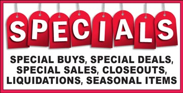 Specials at Southeastern Salvage