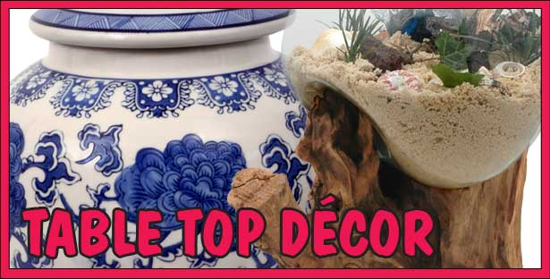 Table Tops Decor and Accents. Hundreds of unique finds from around the world!