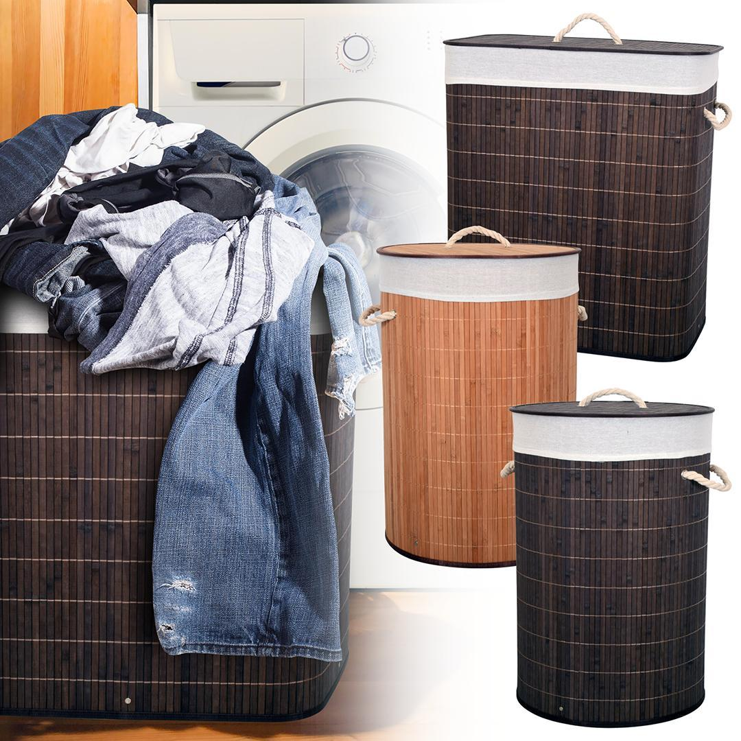Bamboo Laundry Hampers are just $19.