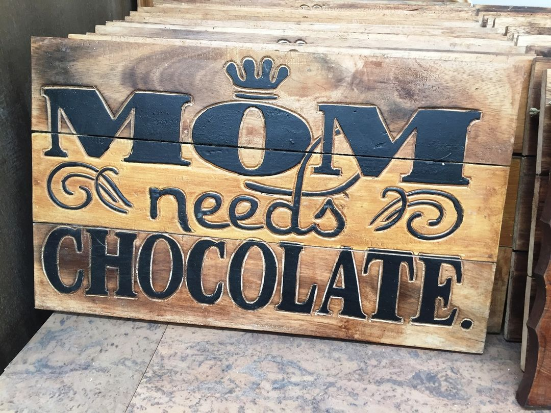 We feel you, mom 🍫  Don't forget! Mother's Day is this Sunday.