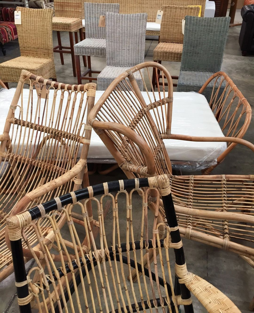 We have NEW styles of Rattan Furniture and more on the way! Click the link in our bio to see them in detail.