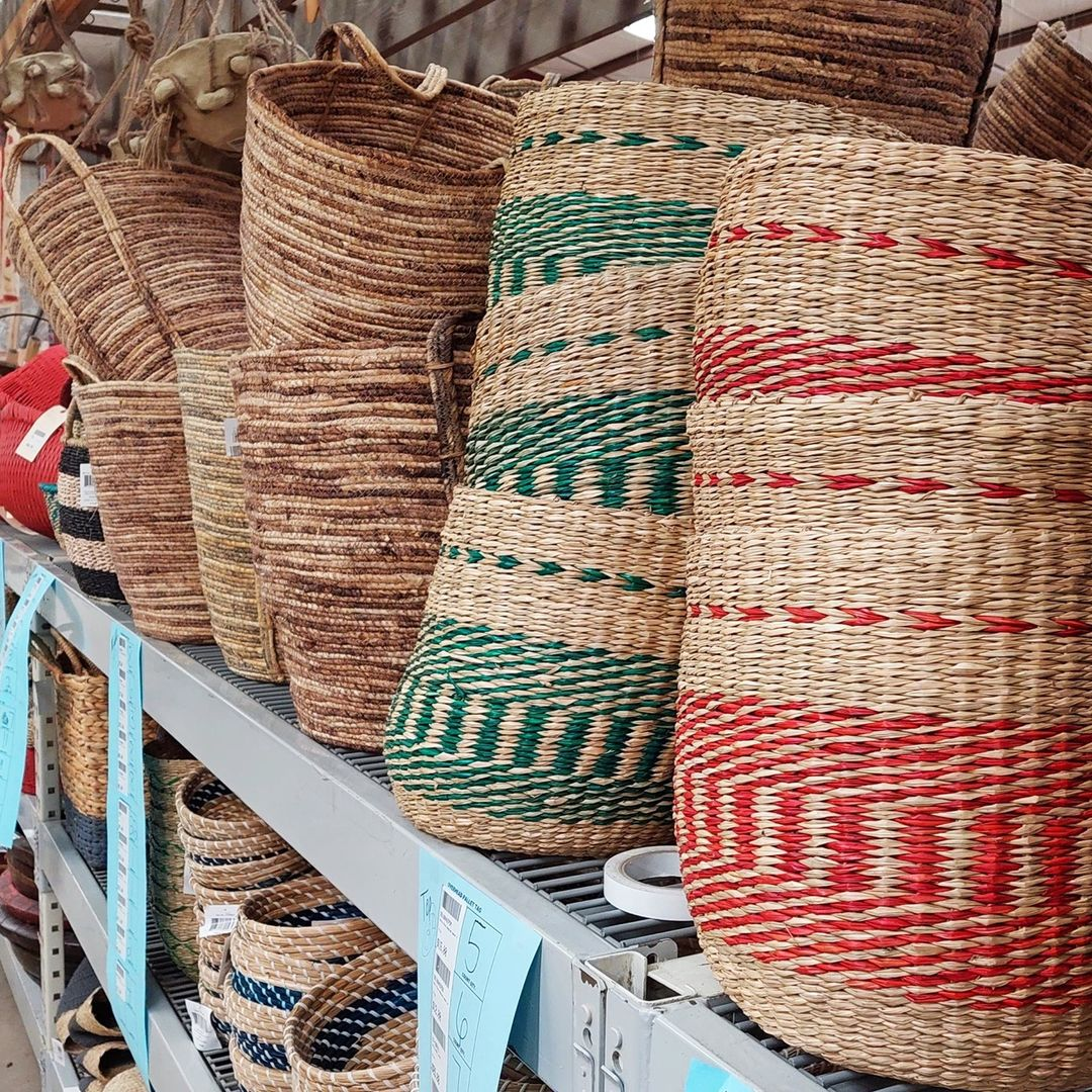 Our stores carry baskets. Check your local store for their selection, as styles may vary by location.