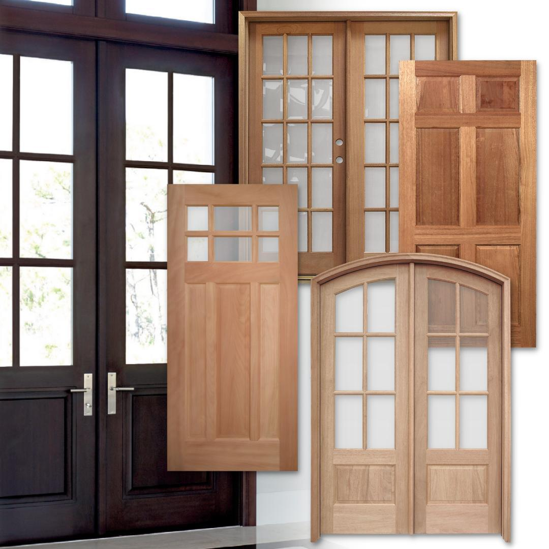 Our Mahogany and Meranti Wood Entry Doors are a strong and elegant choice.  https://2nds.biz/landing-doors.php
