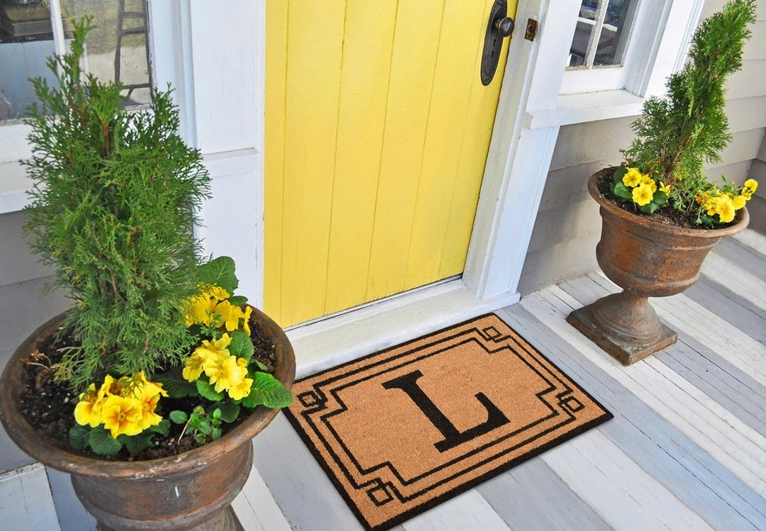 Greet visitors with a Coir Doormat, starting at just $9.